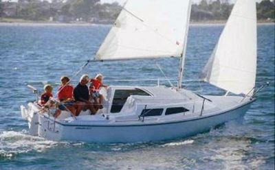 Sailing in the Keys on your Sailboat included with rental
