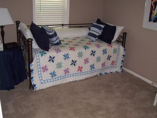 Sunrise Beach house photo - This bedroom has a twin bunk bed in addition to the trundle bed
