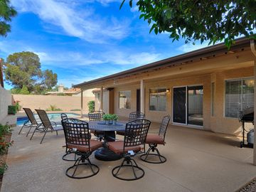 Scottsdale North house rental - Great backyard for entertaining or relaxing after a long day of golf.