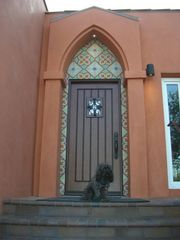 Silver Lake apartment photo - Front Door (poodle not included)