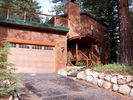 The front of our Incline Village home in summer time - Incline Village house vacation rental photo