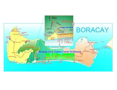 .... location in Boracay Map