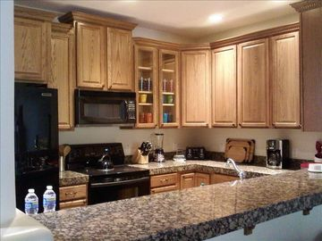 Scottsdale Troon townhome rental - Kitchen ... where everyone ends up!