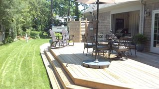 Centerville house photo - Large Deck for Entertaining