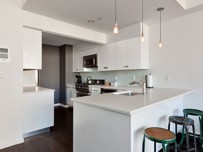 Brooklyn condo rental - plenty of room to cook your dream meals