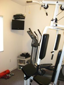 South Miami house rental - Gym (elliptical, universal gym)