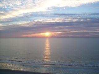 Landmark Resort condo photo - Atlantic sunrise...