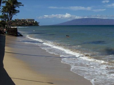 swim and snorkel right from our oceanfront Maui condo rentals at Makani Sands.