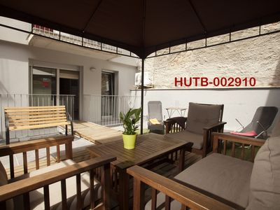 Great apartments for Groups and Families Terrace.