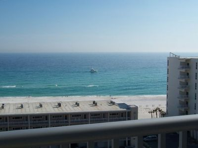 View of the Gulf of Mexico from front balcony