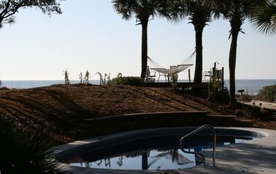 beach, pool, best hammock on Hilton Head!