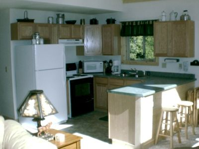 Large spacious kitchen.