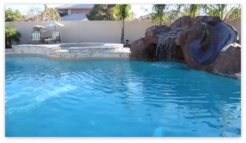 Mesa house rental - Pool and Jacuzzi