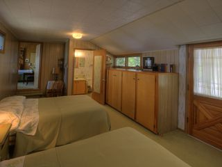 Traverse City cabin photo - Second bedrm off of master bdrm,w/outside door