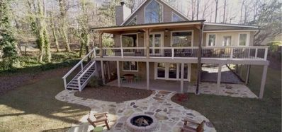 ADORABLE Lakefront Cottage Completely Renovated with Private 2 Level Boat Dock!