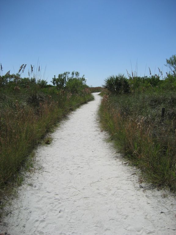 Beach Access #7 Path to the #1 Beach in the USA