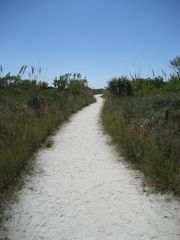 Siesta Key cottage photo - Beach Access #7 Path to the #1 Beach in the USA