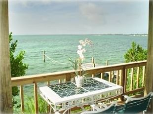 Marsh Harbour studio rental - View From Deck of this tropical beach paradise.