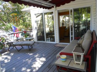 Laurie house photo - Another view of the deck