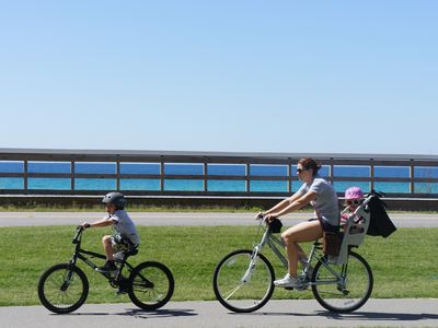 Bike path is a family favorite