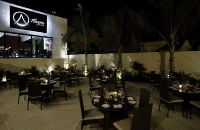 Restaurant Alegria by Apostolis. This onsite restaurant offers Italian fare.