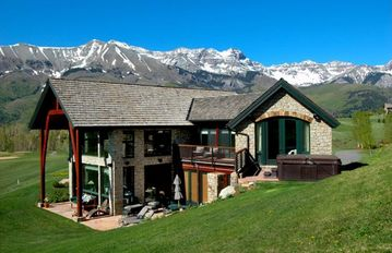 Mountain Village house rental - 360° Panoramic Views situated on the 8th Fairway ~Use of Porsche Cayenne SUV