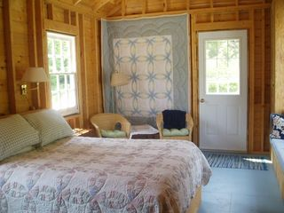 Baddeck house photo - Sun Filled Interior Guest Bedroom