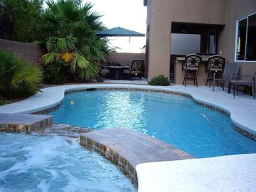 Heater pool and spa