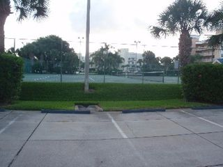 Cape Canaveral condo photo - Tennis courts with equipment