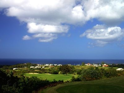 View from 18th tee, Royal Westmoreland Golf Club