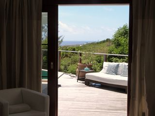 St Barthelemy villa photo - View from Master Bedroom.