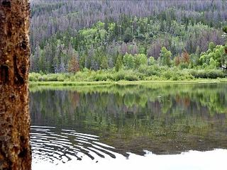 Rainbow Lake. Half an hour walk from condo. - Frisco condo vacation rental photo