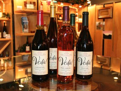 VOILA` WINERY IS JUST NEXT DOOR, COME SEE HOW A GRAVITY FLOW WINERY WORKS!