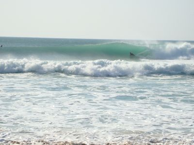 Body board at Praia Grande