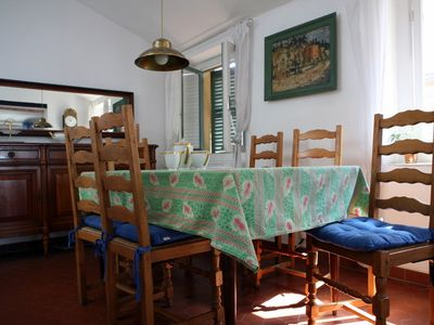 Nice Old Town (Vieux Nice) apartment rental - Dining room includes Limoges china porcelain and other nice French touches