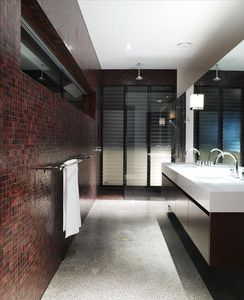 modern, streamline bathrooms
