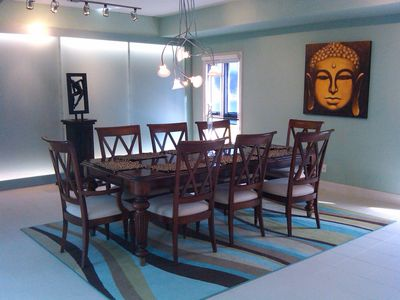 Dining Area   Budda  say   Enjoy Life !!!