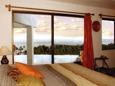 Lo De Marcos house rental - King master with views of pool & ocean, easy walk out door!