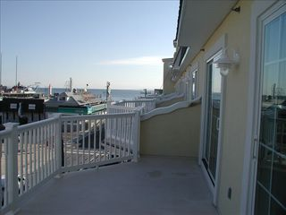 Seaside Heights condo photo - Top Deck looking at Ocean