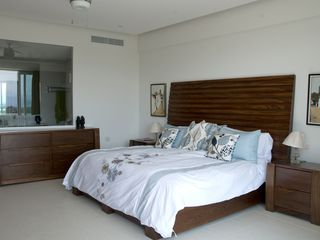 Nuevo Vallarta condo photo - Huge master suite - King bed, balcony, tons of storage.