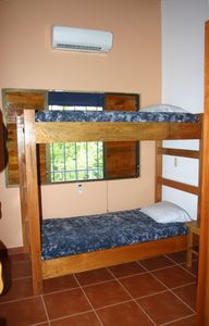 Guest Room With Bunk beds and Board Racks