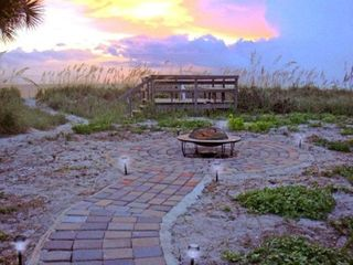 Manasota Key house photo - The back yard fire pit
