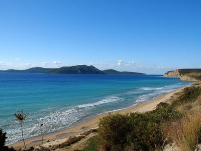 Methoni apartment rental - Local beach