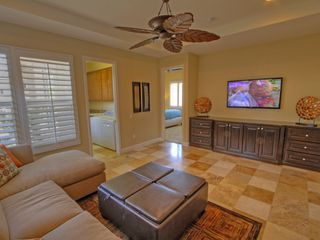 La Quinta villa photo - Den With 55 inch HDTV Wii and XBox Kinnect