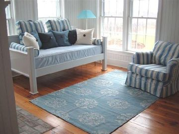Sun Room with Daybed and Trundle and its own bath (Sconset Rental)