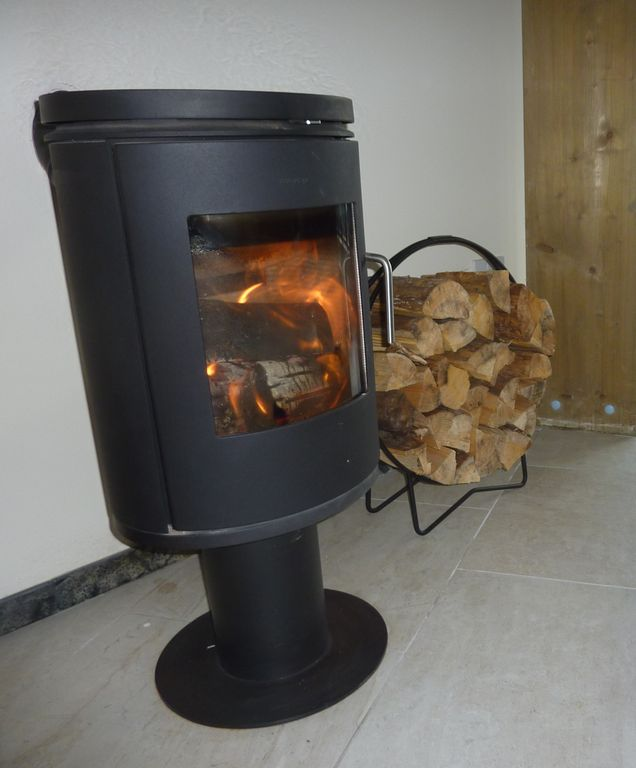 In the evenings, you can light a Morso stove
