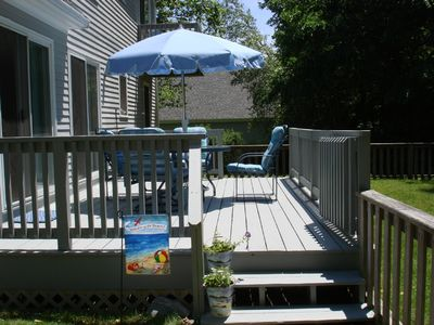 Enjoy a barbecue on your private deck after a day at the beach