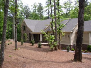 Big Canoe house photo - 6 acre homesite, level, private, safe for children