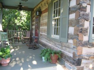 Thurmont house photo - Front porch - great for rockin' and talkin' !!!!! beautiful views of mountains