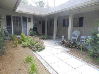 Sea Pines house photo - Entry Courtyard